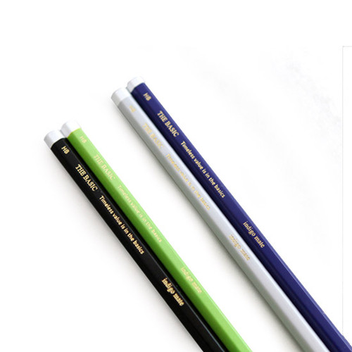 The Basic pencil set with leather pencil cap