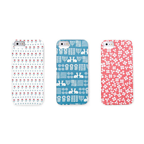 iPhone pattern phone case - daydream