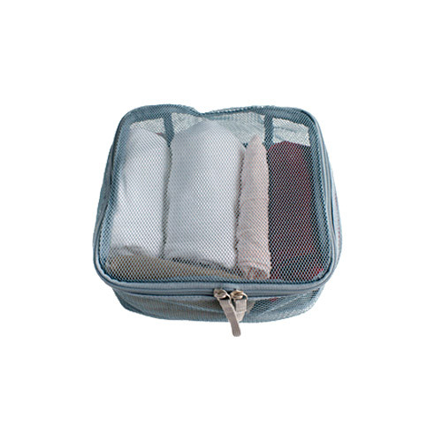 Travel zip organizer mesh bag Medium