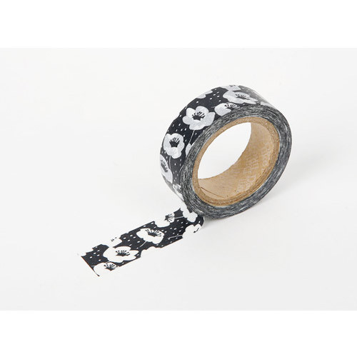 Dailylike 0.59X11yd deco Masking tape single - Anemone