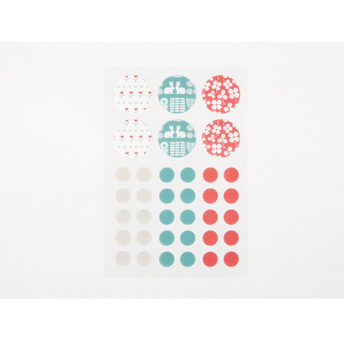 Masking sticker set - bouquet
