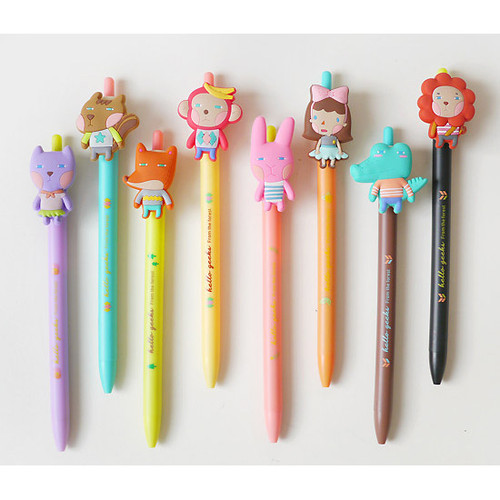 Hellogeeks cute gel pen 0.38mm ver.2
