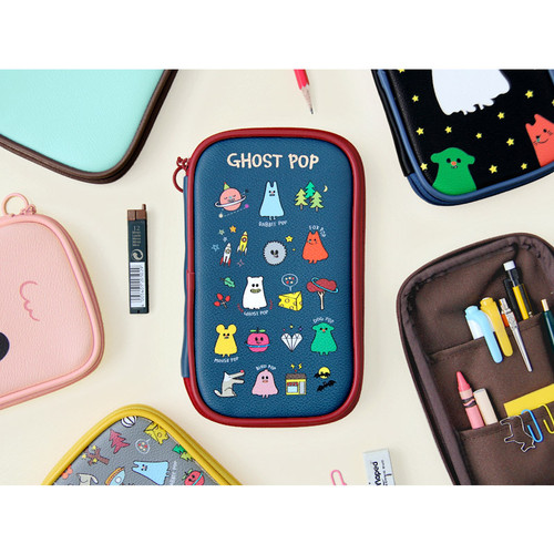 Ghost pop cute illustration pencil pouch