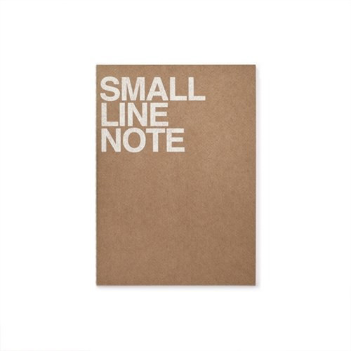 Front - Thread stitching small lined notebook