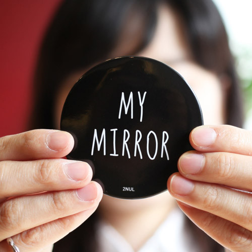 My mirror pocket round handy mirror