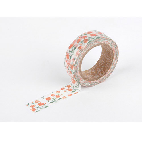 Masking tape single - rose garden
