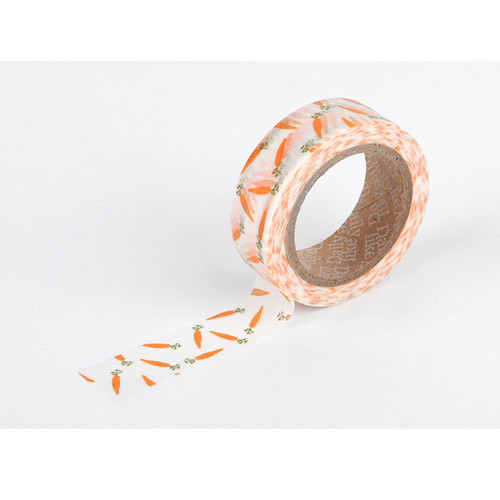 Masking tape single - carrot