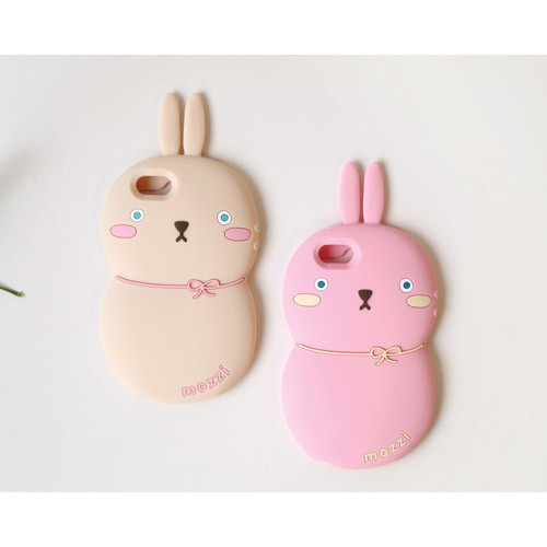 Monomate cute rabbit iPhone 5/5S jelly case