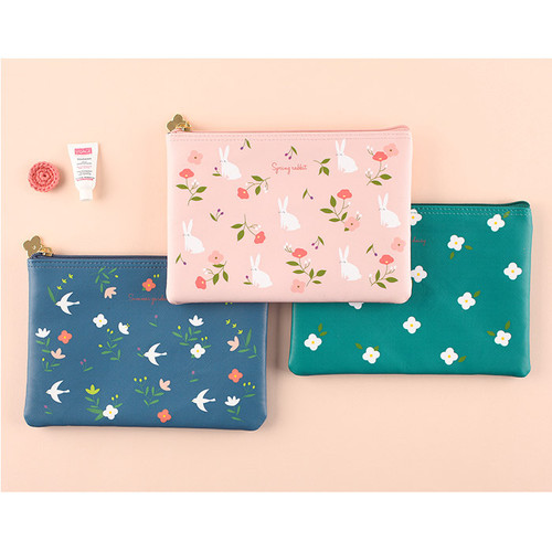 Piyo cute pattern daily pouch