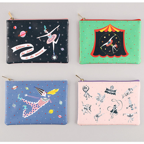 Circus in the universe daily pouch