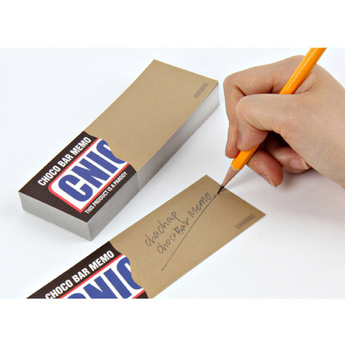 Cnickers chocobar memo pad 100 sheets