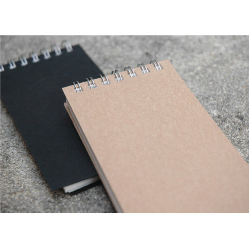 Wirebound small notebook with Tracing paper