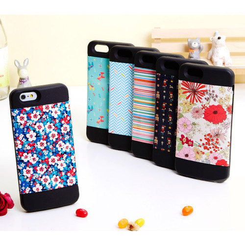 Flower pattern bumper case for iPhone 6