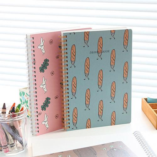 Jam Jam wirebound drawing notebook