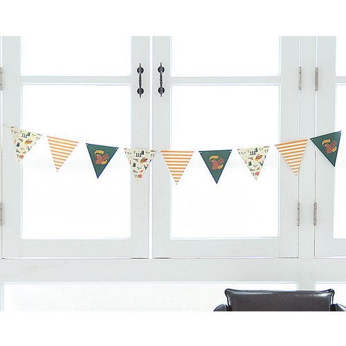 Make you happy flag garland