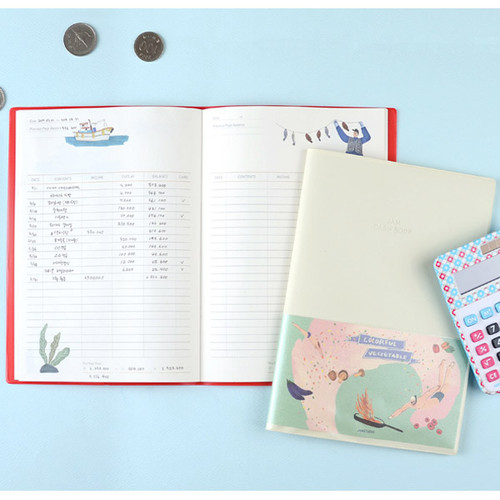 Jam Jam cash book planner note