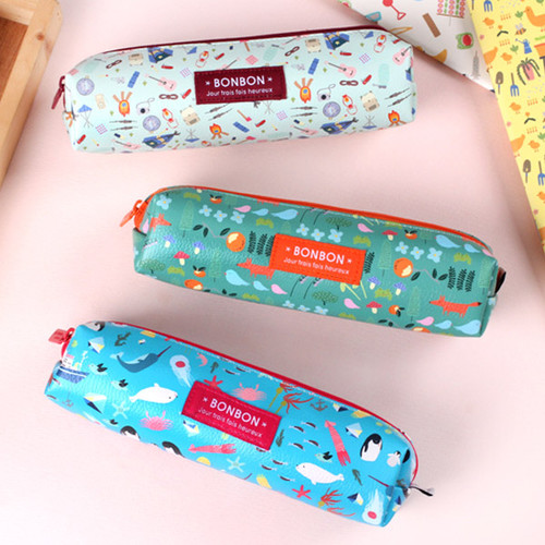 Bon Bon square zipper pencil case