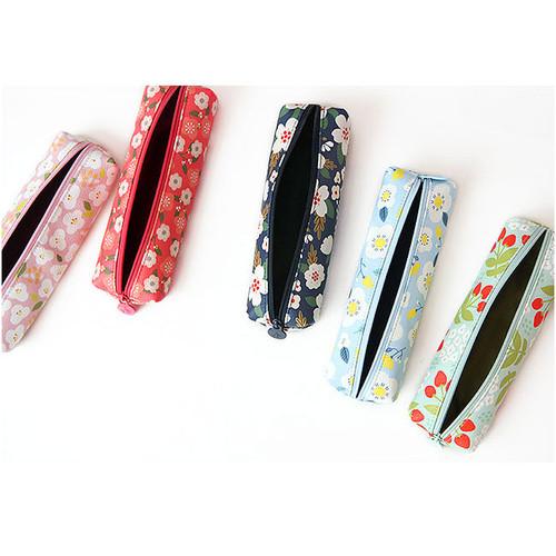Breezy windy nemo flower pattern pencil case