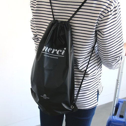 Merci travel waterproof drawstring backpack