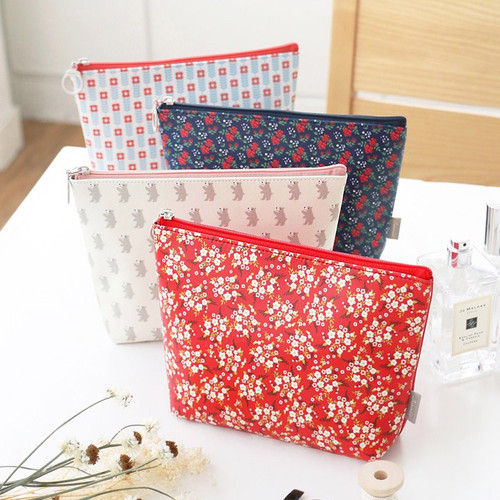 Unique pattern stand up pouch