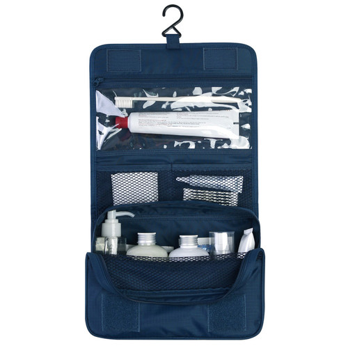 Travel hanging toiletry pouch bag