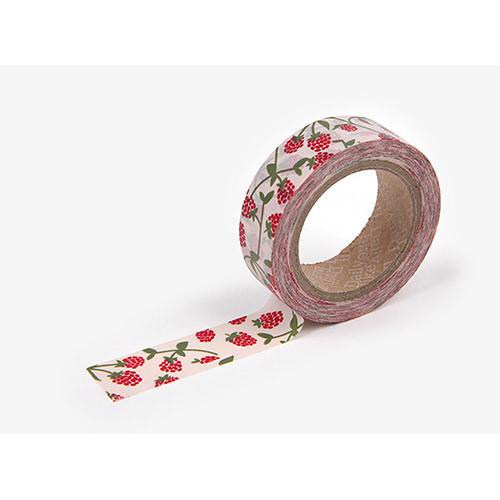 Masking tape single - Raspberry