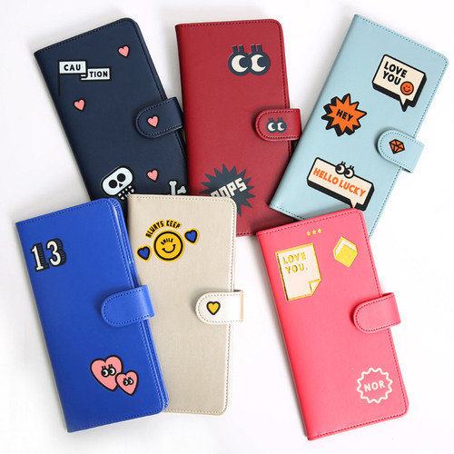 Merrygrin RFID blocking long passport case