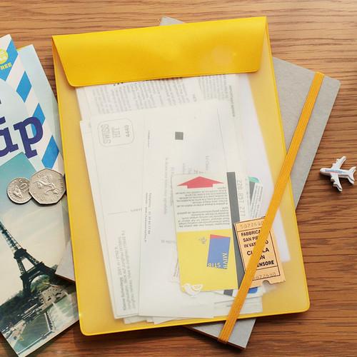 Bird A5 color file folder pouch