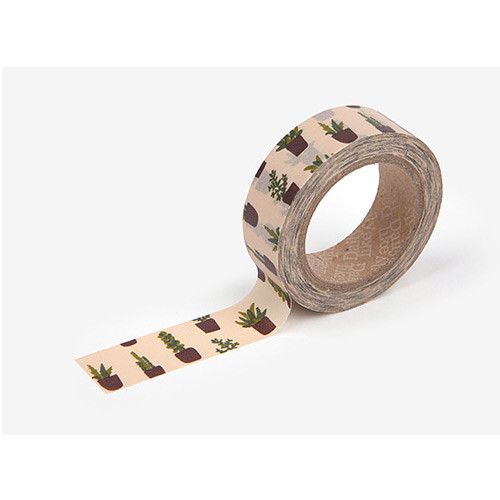 Masking tape single - Succulent