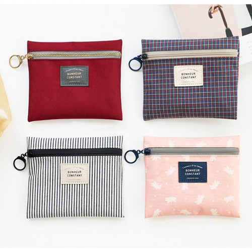 Basic pattern small zipper pouch ver.2