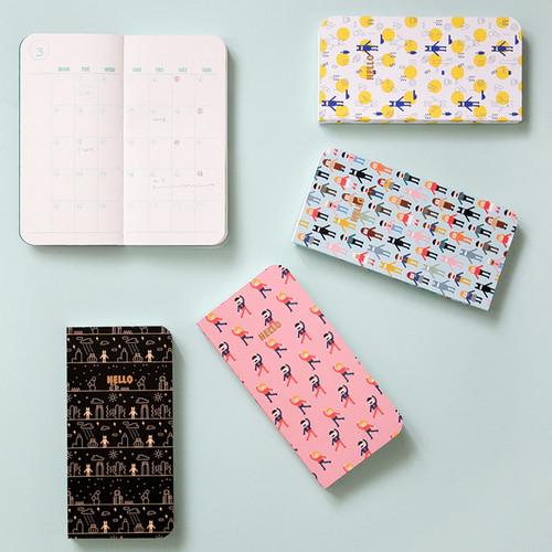 2016 Pocket undated handy diary