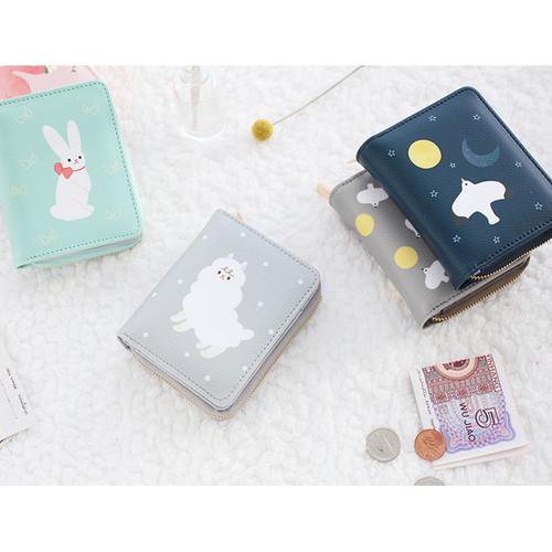 Piyo zip around small wallet
