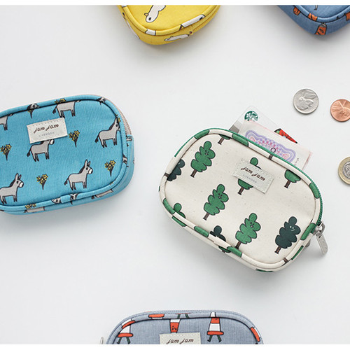 Jam Jam pattern card case pouch