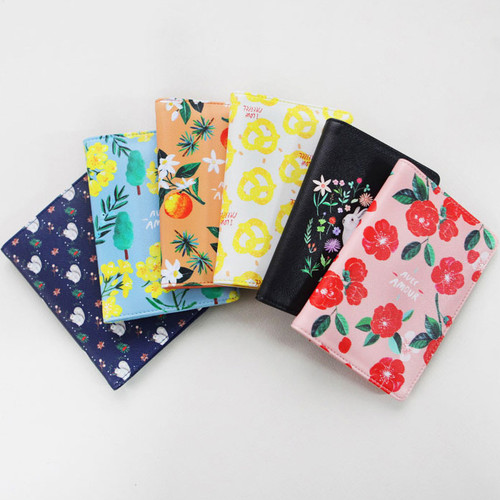 Rim pattern passport cover case