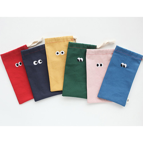 Som Som cotton drawstring pouch
