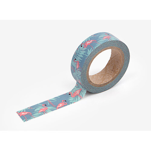 Masking tape single - Flamingo