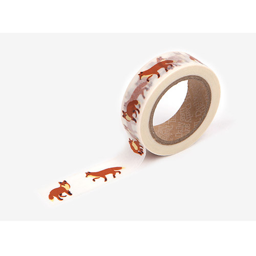 Masking tape single - Winter fox