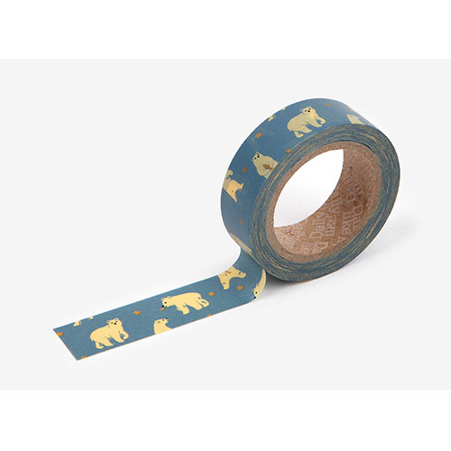 Masking tape single - Friendly bear