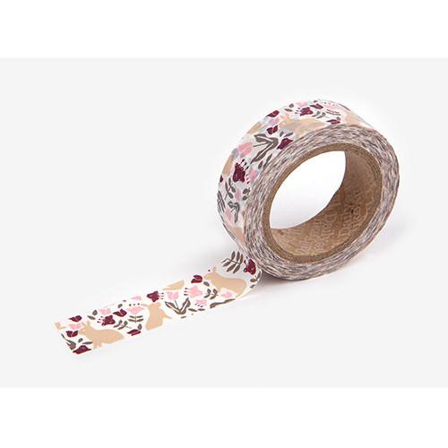 Masking tape single - Botanic garden rabbit