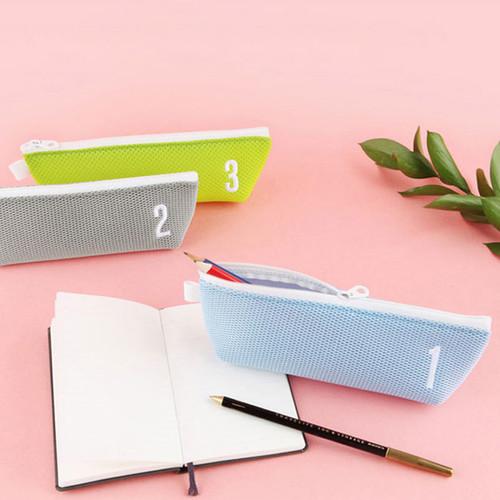 Table talk air mesh pencil case