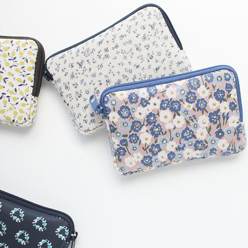 Warm breeze pattern card case holder