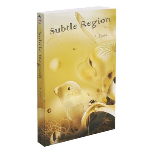 Subtle region paperback plain notebook