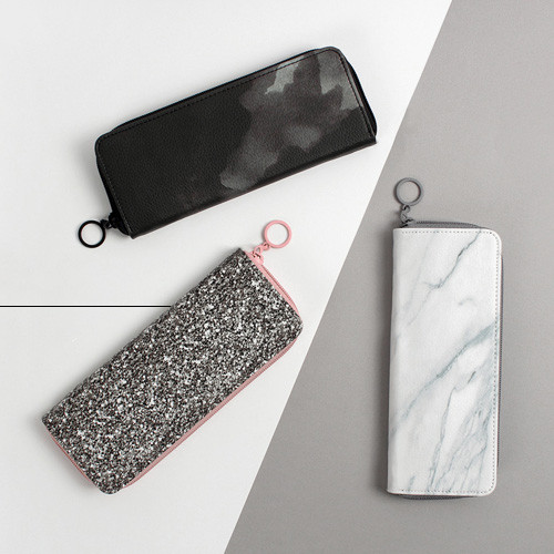 Avec chic zip around pencil case