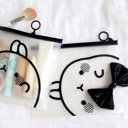 Bookcodi Molang zip lock large pouch