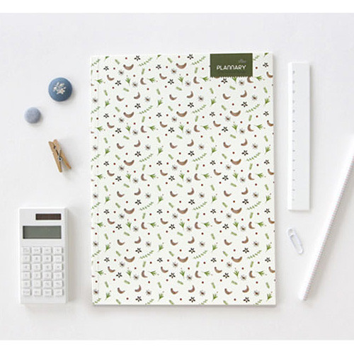 Plannary Breezy windy lined notebook