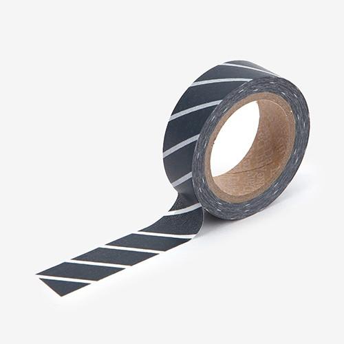 """Dailylike 0.59""""X11yd deco Masking tape single - Slash"""
