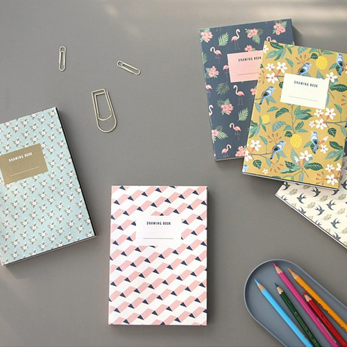 Analog pattern drawing notebook ver2