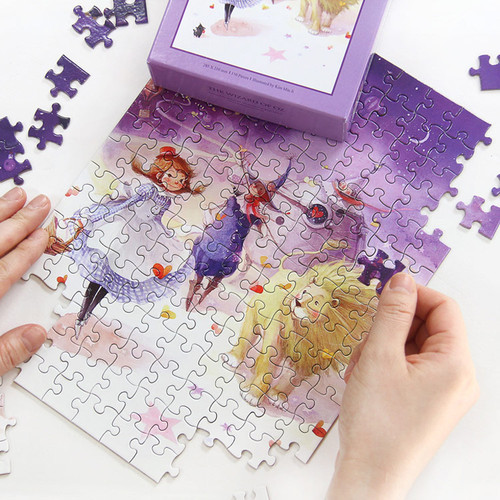 illustration 150 piece jigsaw puzzle - The wizard of OZ