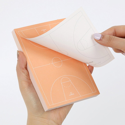 Sports memo pad - Basketball