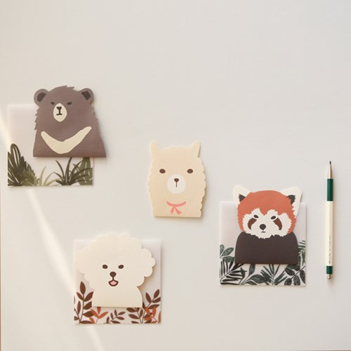 Present your heart animal letter paper and envelope set